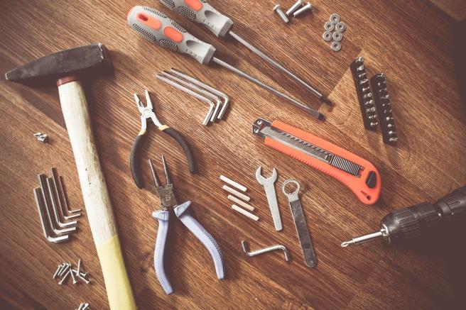 bauen, tools, werkzeug
