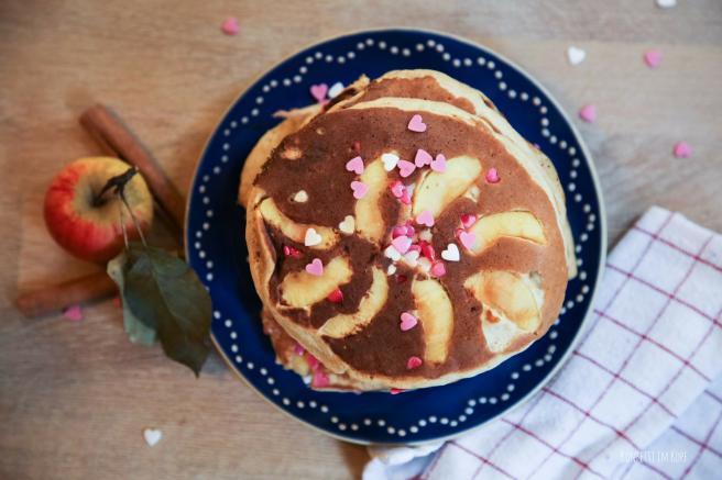 Pancakes, Eierkuchen, bloggen, Rezept, Frucht, healthy, gesund, Frühstück