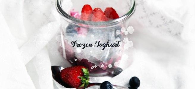frozen Joghurt jogurt ice eis rezept essen food
